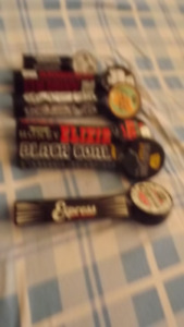 6 RAILWAY CITY BEER TAP HANDLES PACKAGE DEAL