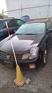 2007 Cadillac CTS FOR PARTS (ECM BLOWN)ENGINE  GOOD