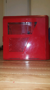 Pc Case Nzxt Phantom 410 Red, Mid Tower Gaming Pc Case