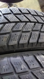 2 Snow tires for sale like new