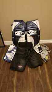 Pro Goalie Gear for sale.
