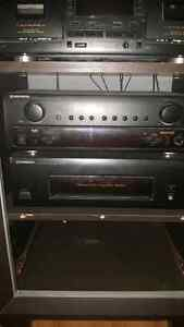 Pioneer receiver and amplifier with remote