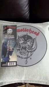 MOTORHEAD LIVE AT THE ROUNDHOUSE PIC DISC VINYL ! BRAND NEW !