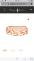 LOST Rose Gold ring