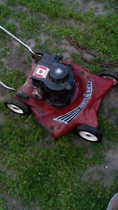 Looking for broken lawnmowers chainsaws etc