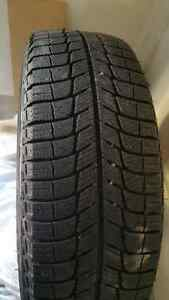 Like NEW!  Four Michelin X-Ice 3 winter tires on Ford rims Kitchener / Waterloo Kitchener Area image 4