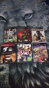 Playstation 2 games all for 10$ each