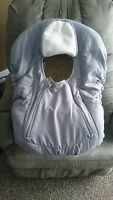 Grey Car Seat (baby Carrier) Cover