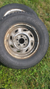 Ford ranger studded tires