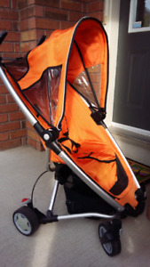 SALE - QUINNY Travel System Zapp stroller and MaxiCosi car seat