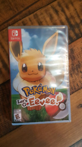 Brand New Pokemon Let's Go Eevee Nintendo Switch