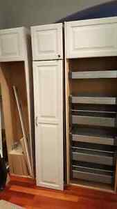 Tall pantry cabinets - kitchen, pantry, laundry