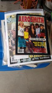 AEROSMITH magazine/clippings collection