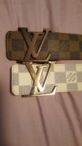 Authentic Louis Vuitton Damier Size 100 Belts