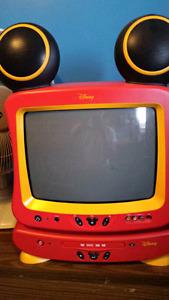 "13"" Vintage Disney Tv / Dvd Combo"