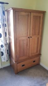 Solid Oak Wardrobe