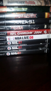 Ps2 and 21 games