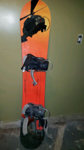 Snow board and boots