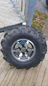 4 rims and tires like new