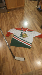 Signed Mooseheads jersey