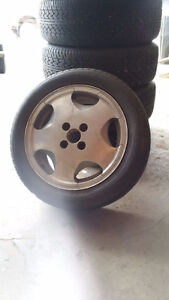195/50 R15 - VW Passat Original Wheels and Tires Strathcona County Edmonton Area image 1