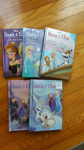 Disney Anna & Elsa hardcover book set