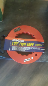 BRAND NEW 50 FT AND 100 FT FISH TAPE