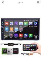 Radio dvd android '7 pouces universal