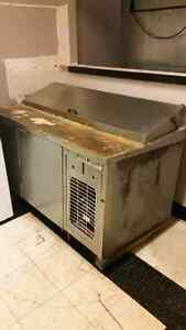 Stainless refrigerated make line  Kitchener / Waterloo Kitchener Area image 1