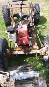 Home made pulling tractor