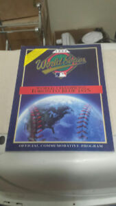 1992 World Series Official Commemorative Program