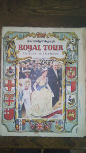 Daily Telegraph ROYAL TOUR Picture Supplement 1954