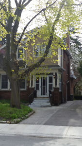 Semi-basement Room in Female house near McMaster/Now-8/31
