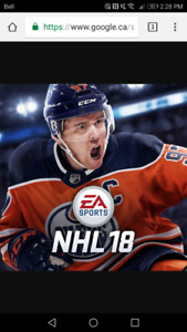 Ps4 NHL 18 HUT Coin
