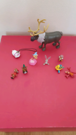 Disney Animal Miniature Figures / Cake Toppers Cinderella Little Merma
