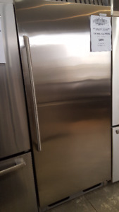 "Stainless Steel 32"" All Fridge 33"" Stainless Steel Fridge"