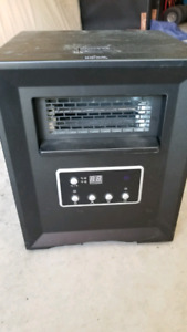 Infrared space heater