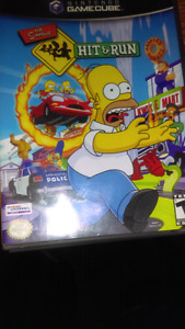 Gamecube Simpson's, Wave Race. Brand new Friends DVD game. Glee2
