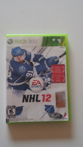 NHL12 for XBOX360