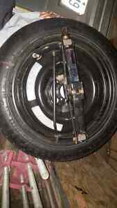 Acura Spare tire and jack - brand new condition Kingston Kingston Area image 1