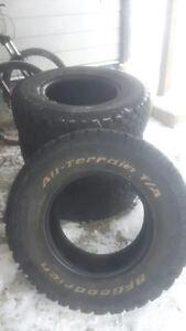 For sale 30x9.50 R15 BFG