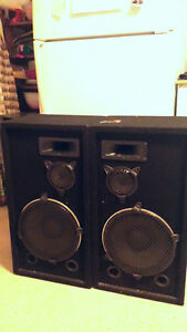 Large Pro Speakers