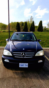 2004 Mercedes Benz ml500 safetied e tested