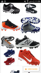 Looking for boys cleats size 1 and size 10/11
