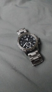 Fossil Silver stainless steel watch