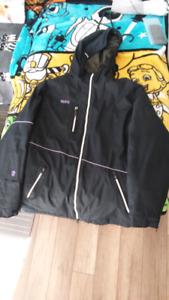 Manteau d'hiver orage noir