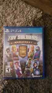 Toy solders WAR CHEST BRAND New opened with recite  ps4