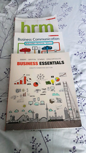 Business administration books for classes 100, 205, and 250