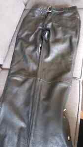 Ladies leather riding pants