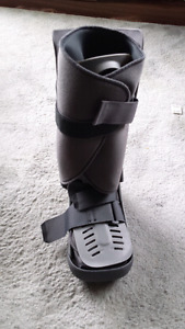Ossur boot for broken foot/ankle price at QE2 $145.00